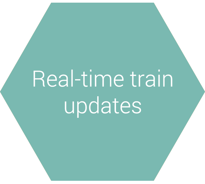 Real-time train updates