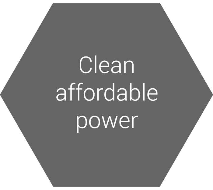 Clean affordable power