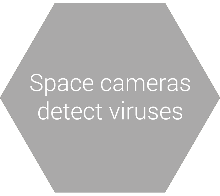 Space cameras detect viruses