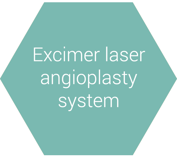 Excimer laser angioplasty system