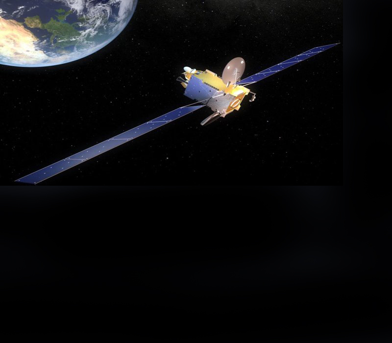 Europe's first electric propulsion telecom satellite